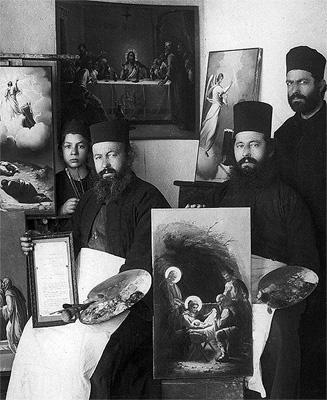 Иконописцы Святой горы